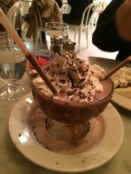 Serendipity's Frozen Hot Chocolate of course!!