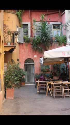 a hidden restaurant recommended by our tour guide at the colosseum...delizioso